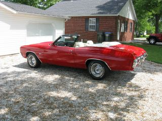 1972 Chevelle Ss Convertible photo