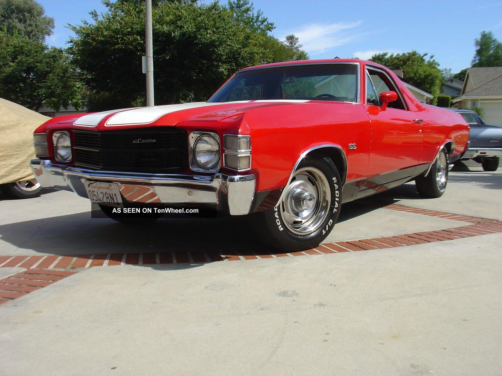 1971 Chevy El Camino Ss Badged 1968 1969 1970 1972 Chevrolet