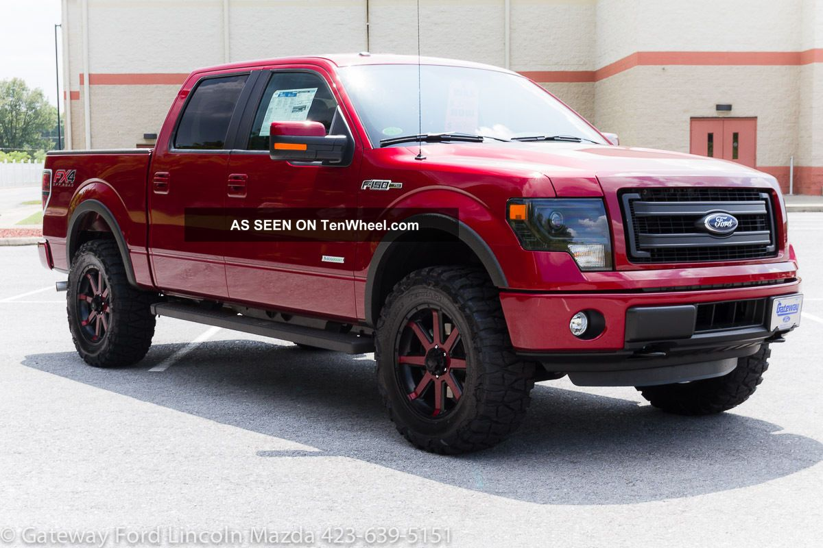 2014 ford f 150 fx4 crew cab ecoboost 4x4 lifted custom. Black Bedroom Furniture Sets. Home Design Ideas