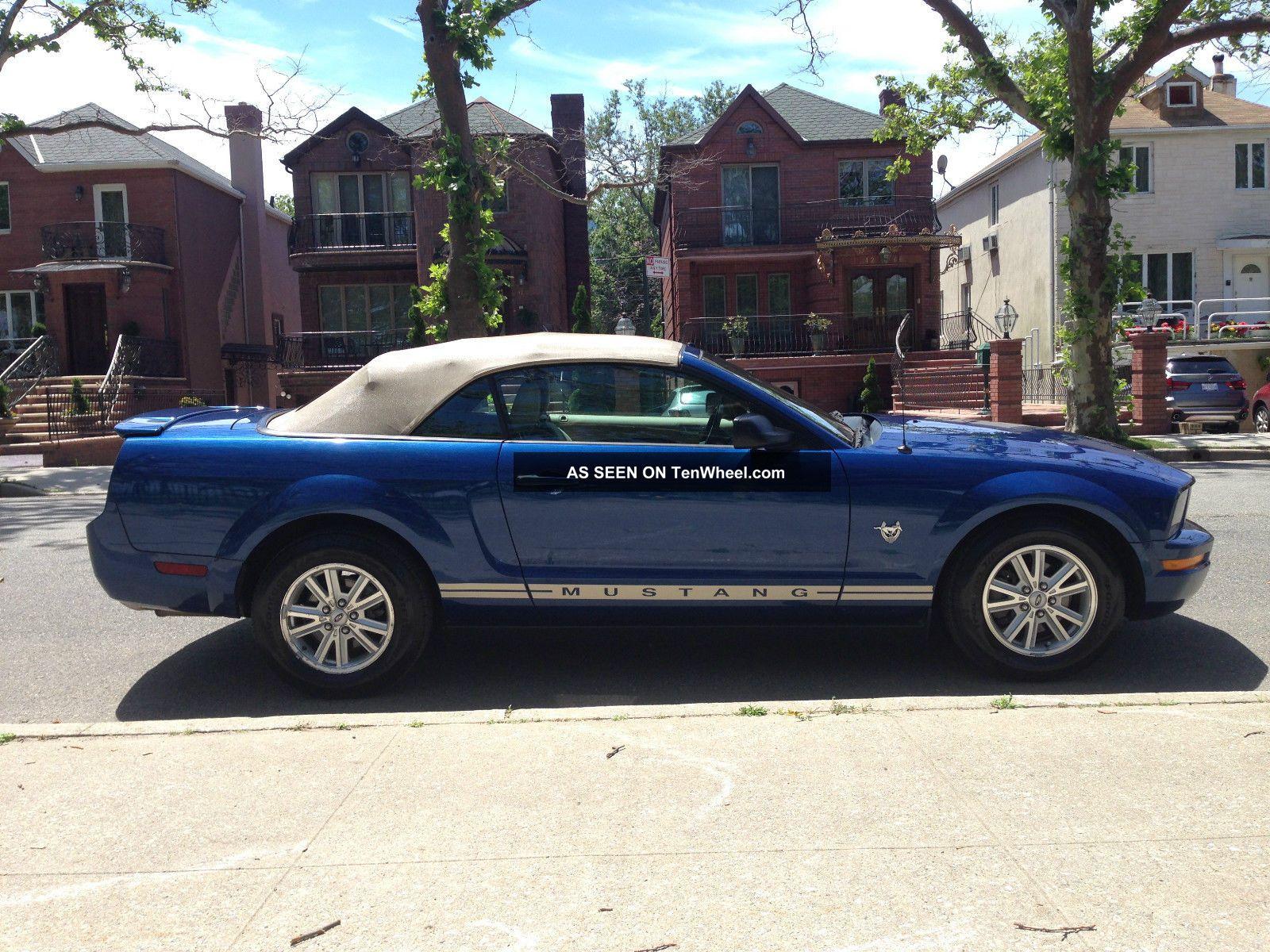 2009 Mustang Convertible 45th Anniversary Edition V6