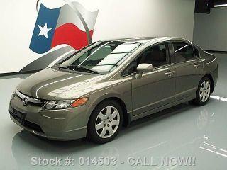 2008 Honda Civic Lx Sedan 5 - Speed Cd Audio Cruise Ctrl Texas Direct Auto photo