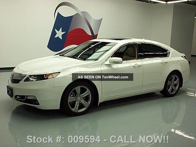 2012 Acura Tl Advance 44k Texas Direct Auto TL photo
