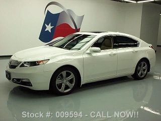 2012 Acura Tl Advance 44k Texas Direct Auto photo