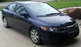 2007 Honda Civic Lx Sedan photo
