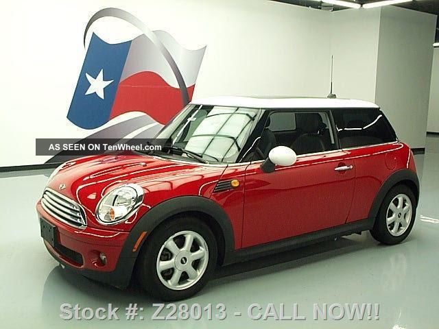 2010 Mini Cooper 6 - Speed Pano 31k Mi Texas Direct Auto Cooper photo