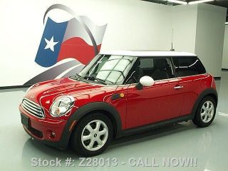 2010 Mini Cooper 6 - Speed Pano 31k Mi Texas Direct Auto photo