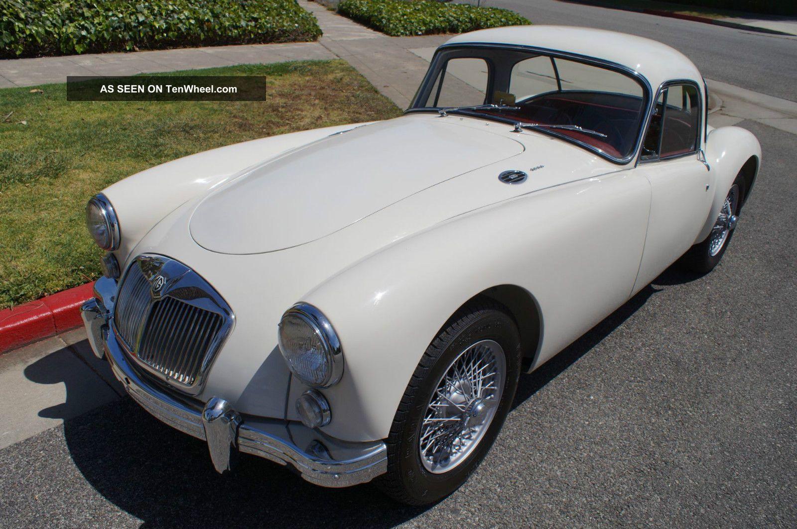 1960 California Black Plate - Older Restoration - Drives As MGA photo