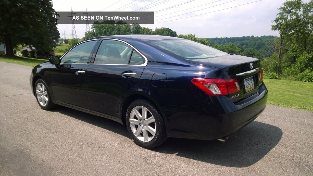 2009 Lexus Es350 Sedan 4 Door 3 5l