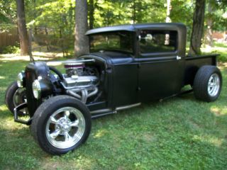 1930 Model A Pickup Truck Hot Rod Rat Rod photo