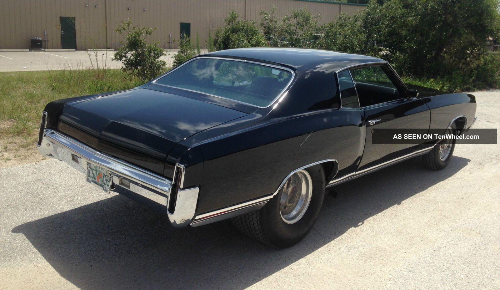 1971 Chevrolet Monte Carlo Street Rod