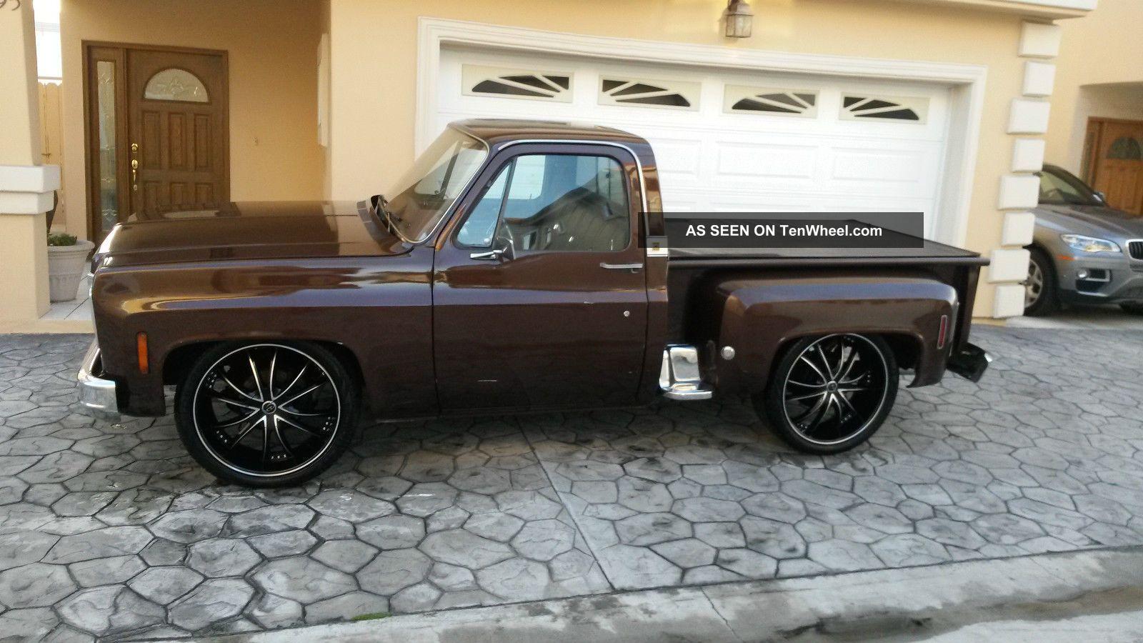1976 chevrolet k10 pickup interior 157719 - 1976 Chevrolet K10 Pickup Rear 3 4 157719 1000x667 1976