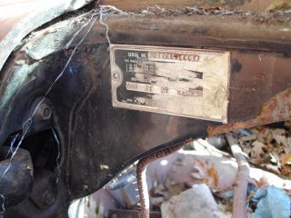1955 Ford Crown Victoria Glass Top Vin Number U5sf151113 Body Number 64b photo