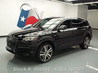 2012 Audi Q7 3.  0t Quattro S Line Prestige Awd 25k Texas Direct Auto photo