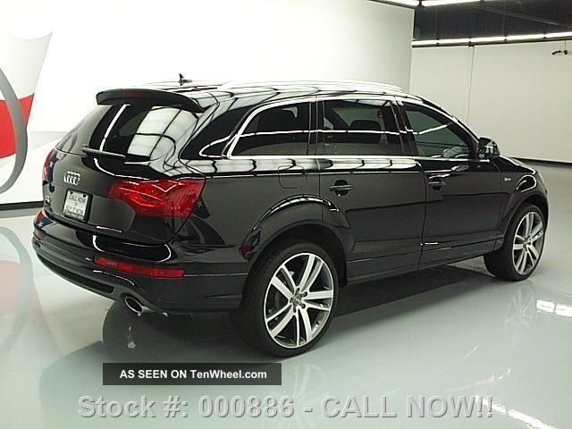 2012 audi q7 3 0t quattro s line prestige awd 25k texas. Black Bedroom Furniture Sets. Home Design Ideas
