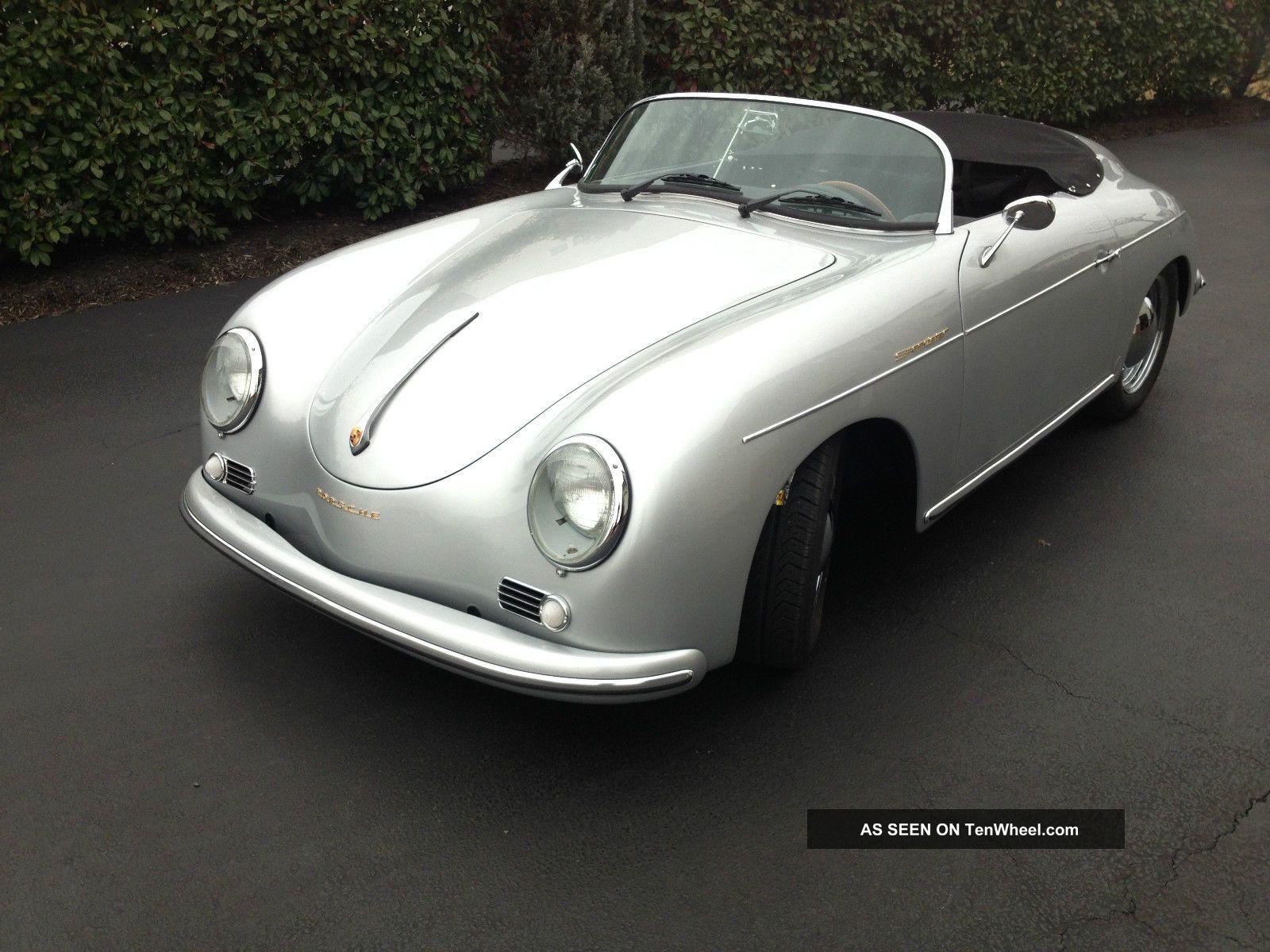 1957 Porsche 356 Speedster Replica Built In October 2013 By Vintage Speedsters 356 photo