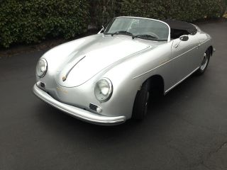 1957 Porsche 356 Speedster Replica Built In October 2013 By Vintage Speedsters photo