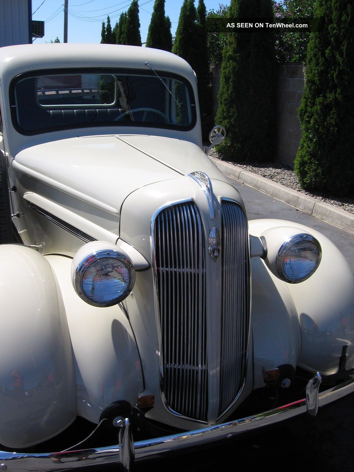 1937 Plymouth Pickup Classic, Vintage