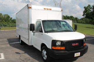 2008 Gmc 3500 Savana Box Truck Cube Van 16 Foot 1 Ton Cargo Huge Selection photo