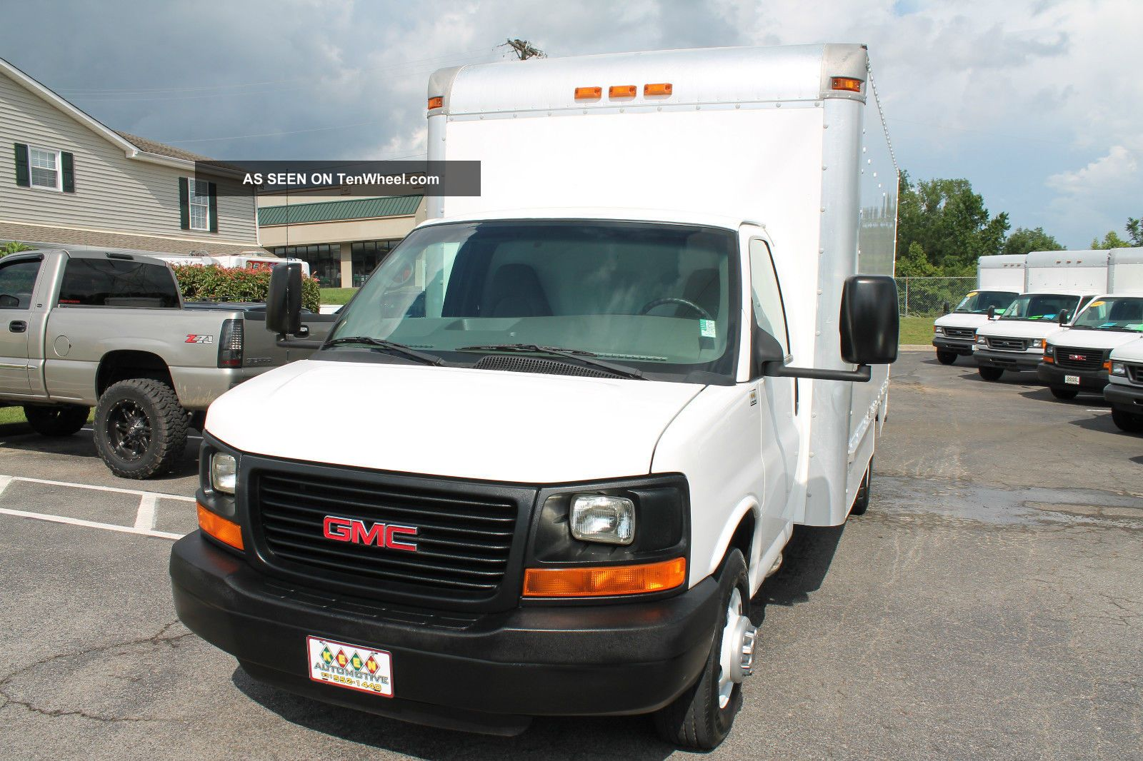 2008 gmc 3500 savana box truck cube van 16 foot 1 ton. Black Bedroom Furniture Sets. Home Design Ideas