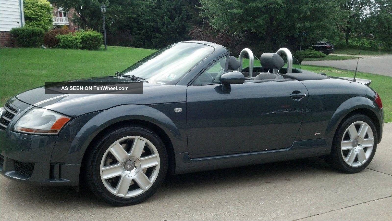 2005 audi tt quattro s line convertible 2 door 3 2l. Black Bedroom Furniture Sets. Home Design Ideas