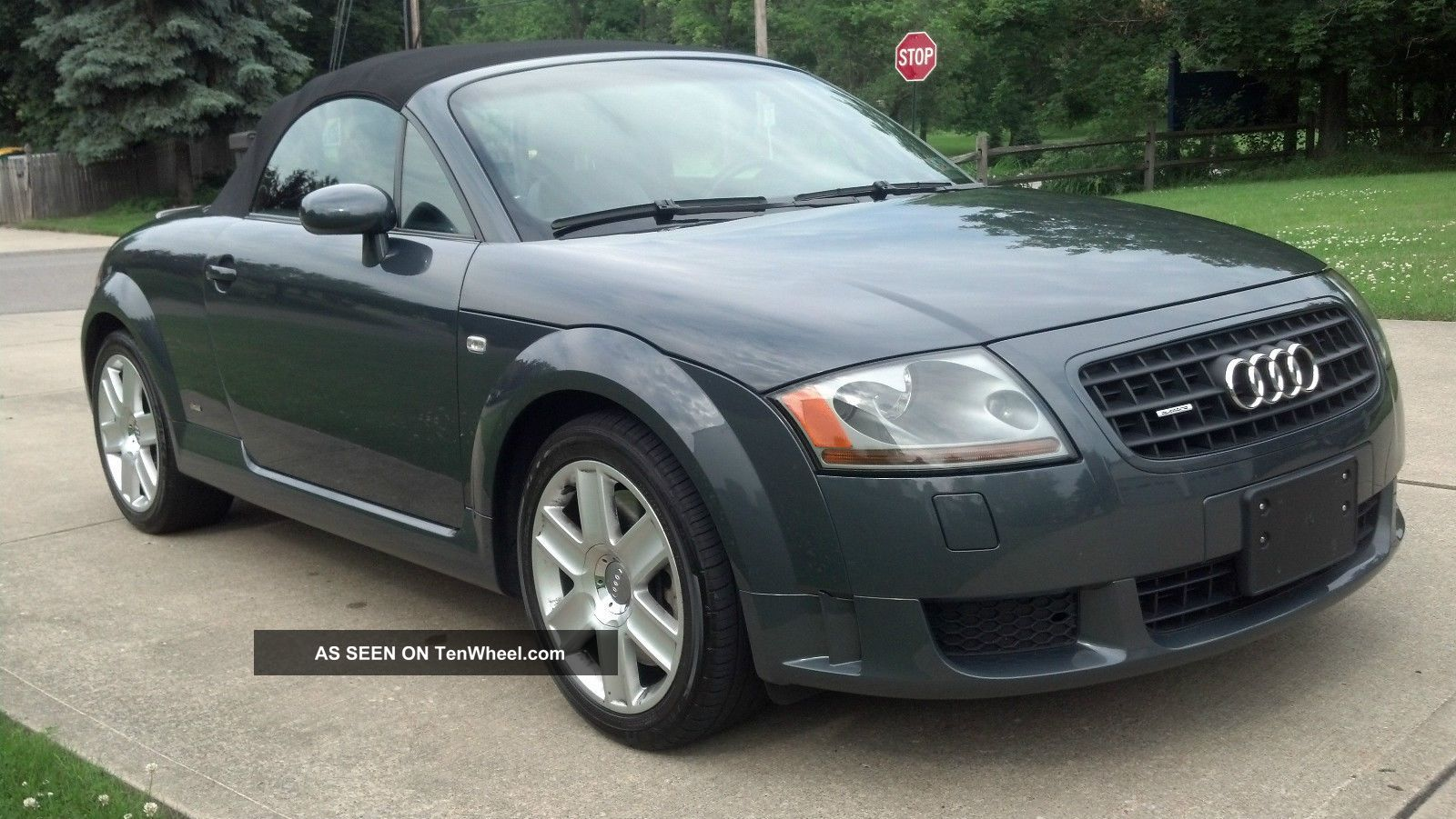 2005 audi tt quattro s line convertible 2 door 3 2l. Black Bedroom Furniture Sets. Home Design Ideas