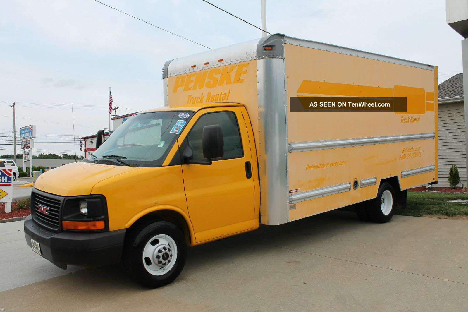 1 Ton Box Truck, 1, Free Engine Image For User Manual Download