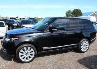 Immaculate 2013 Land Rover Range Rover Supercharged Suv 2012 2014 Santori Black photo