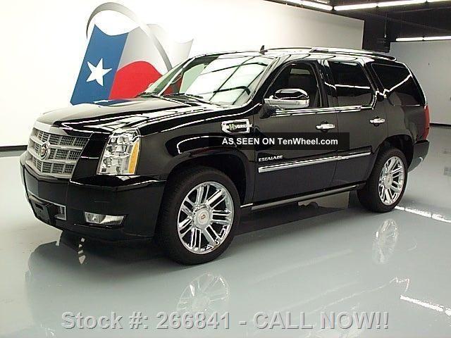 2012 Cadillac Escalade Platinum Hybrid Awd Texas Direct Auto Escalade photo