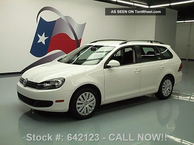 2013 Volkswagen Jetta Sportwagen S Auto Htd Seats 35k Texas Direct Auto Jetta photo