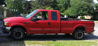 1999 F - 250 Ford Duty Extended 4 Door 8 Foot Bed photo