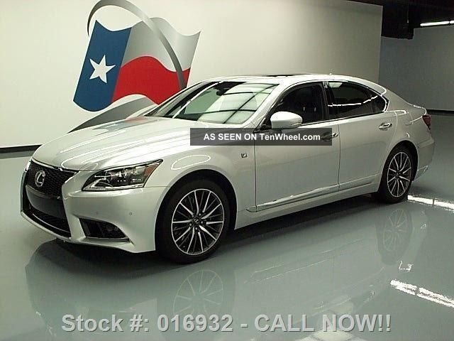 2013 Lexus Ls460 F Sport Awd 11k Texas Direct Auto LS photo