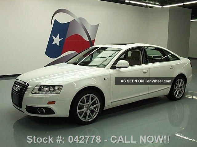 2011 Audi A6 3.  0t Quattro Premium Plus Awd Texas Direct Auto A6 photo