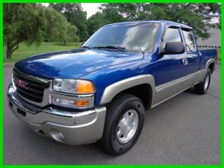 2003 Gmc Sierra 1500 Sle 4x4 Ext Cab Z71 V - 8 Off Road photo