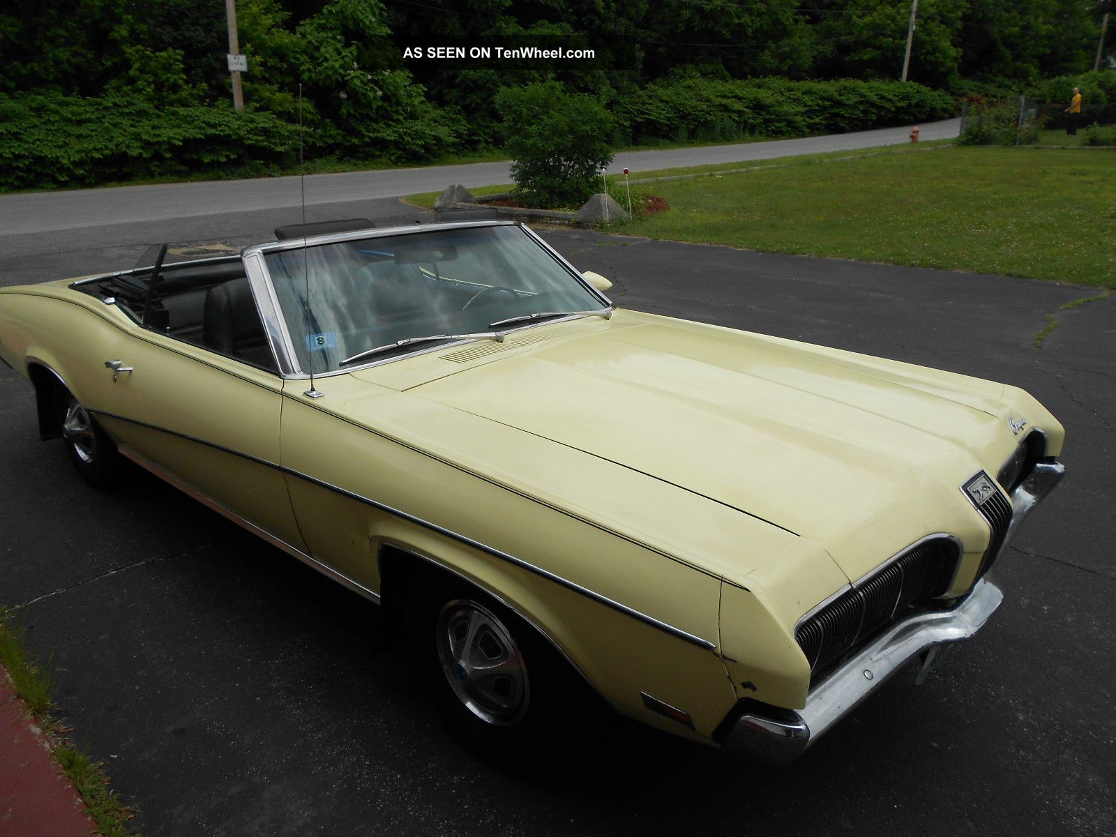 1970 Mercury Cougar Base 5.  8l Cougar photo