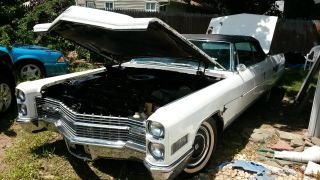 1966 Cadillac Eldorado Base Convertible 2 - Door 7.  0l photo