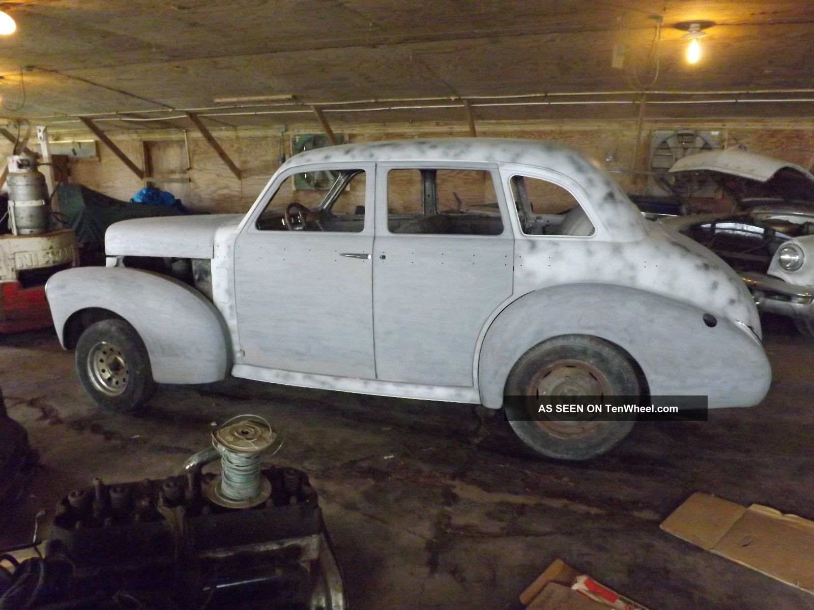 1940 studebaker champion 4 door restoration project hard for 1940 door