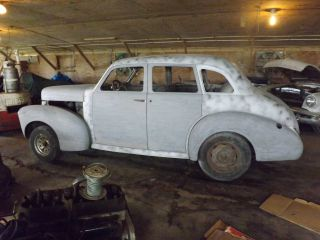 1940 Studebaker Champion 4 Door Restoration Project Hard Work Done photo