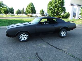 1970 Oldsmobile Cutlass,  Black,  455 V - 8,  Two Door,  Coupe,  Rat Rod,  Street,  Hot photo