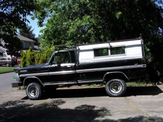 1970 Ford F250 Truck - A Driver While You Restore photo