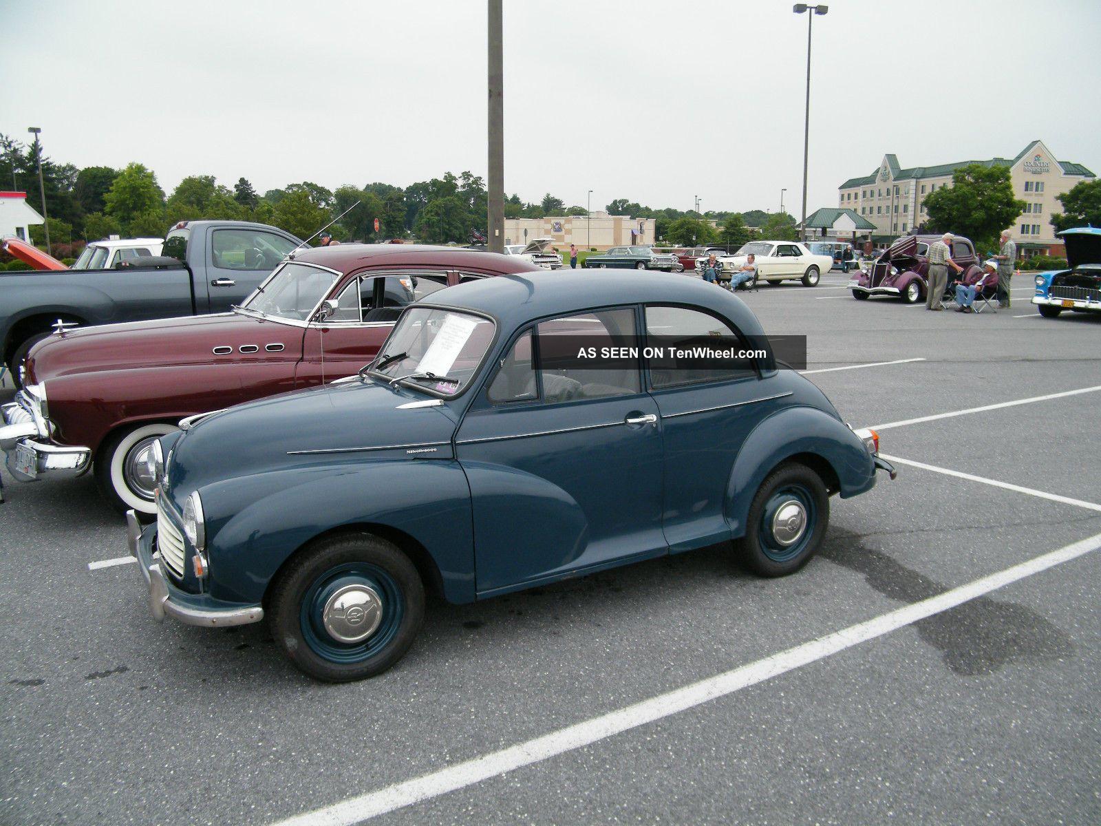1966 Morris Minor 2dr Sedan Rh Drive,  1098 Eng, Other Makes photo