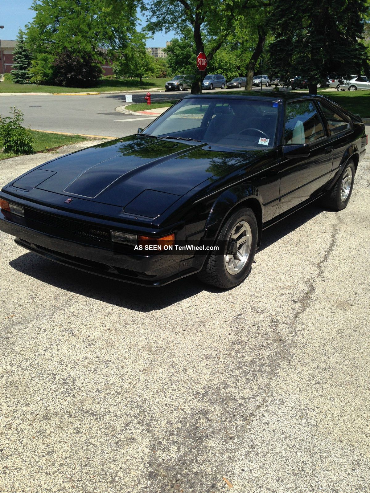 1985 1986 Toyota Supra Rare Manual 5 Speed