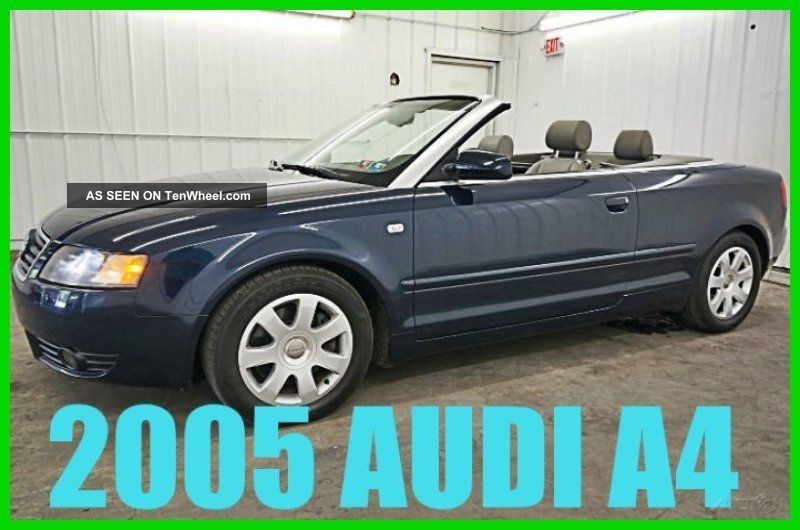 2005 3.  0 3l V6 30v Automatic Convertible Premium A4 photo