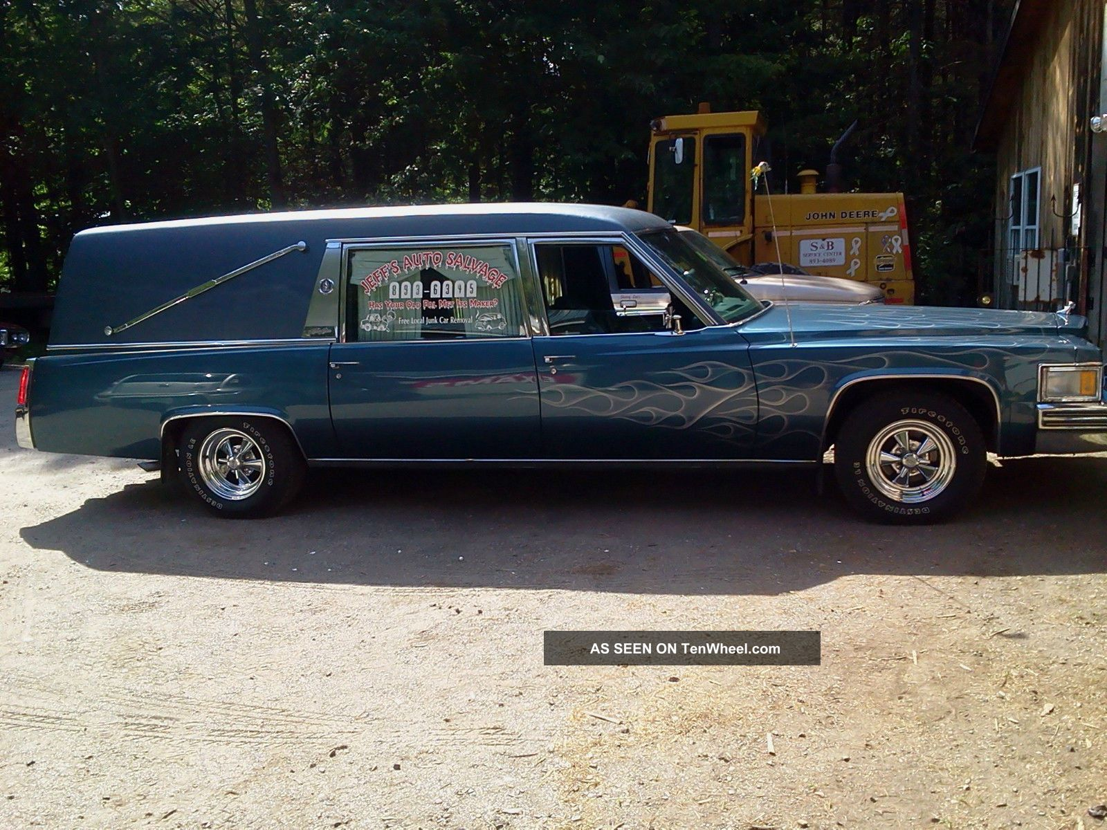 Cadillac Custom 1977 Hearse Miller / Metor Fancy Paint,  Custom Features,  Zombie Other photo