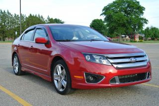 2012 Ford Fusion Sport Sedan 4 - Door 3.  5l photo