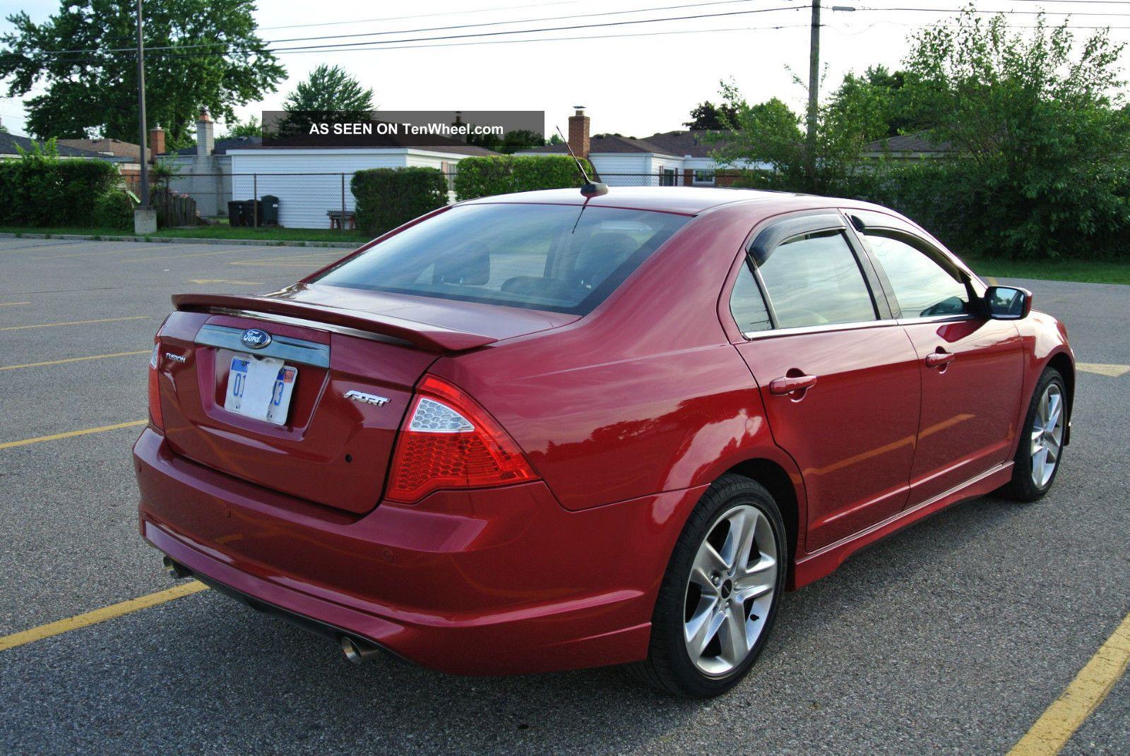 2012 Ford Fusion Sport Sedan 4 Door 3 5l