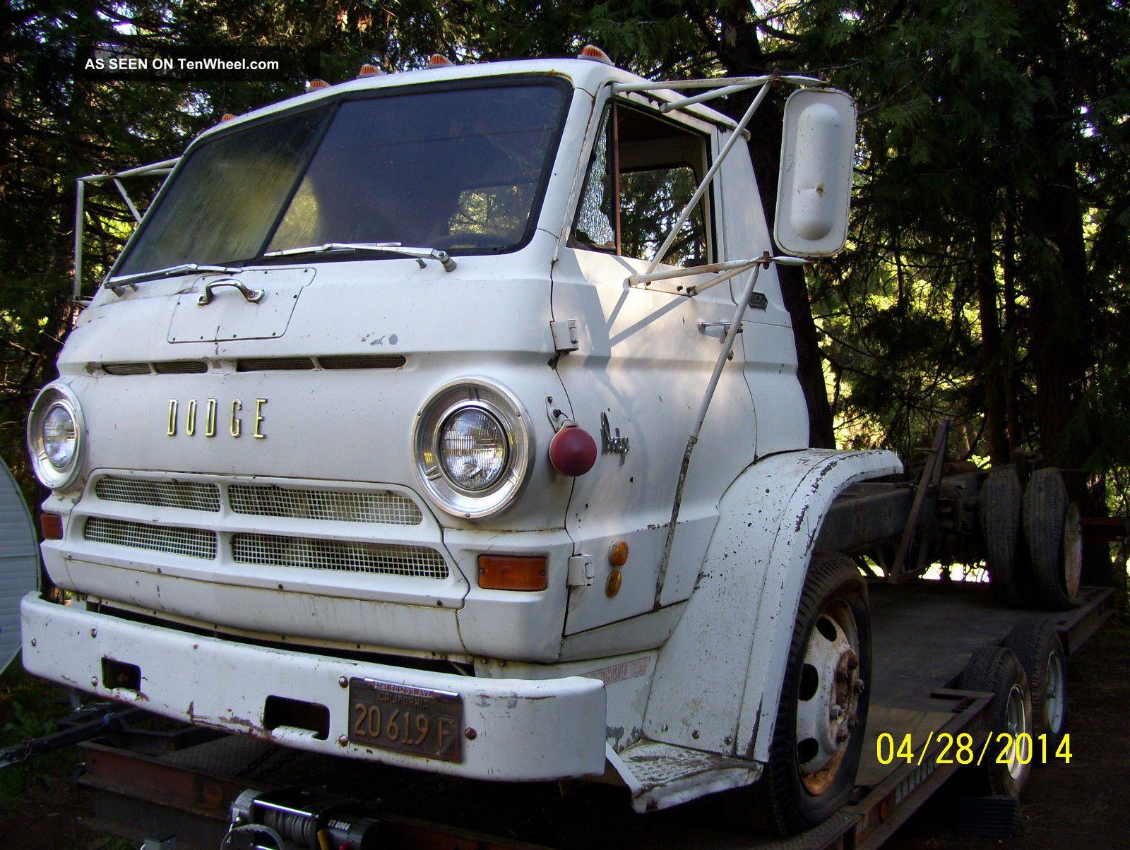 1969 Dodge L600 Cabover Coe 361 Cid Wedge, Now Registered ...