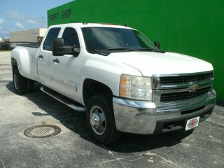2007 Chevrolet Silverado Lt 3500 Hd Crew Cab 4 - Door 6.  6l Duramax Turbo Diesel photo