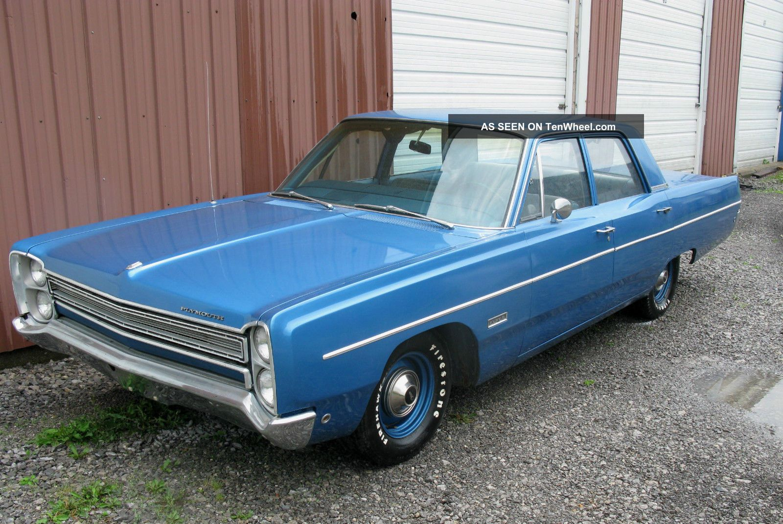 1968 Plymouth Fury Ii,  318 - 4v,  727,  Highly Fury photo