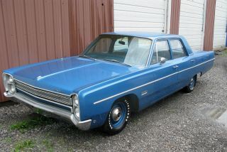 1968 Plymouth Fury Ii,  318 - 4v,  727,  Highly photo