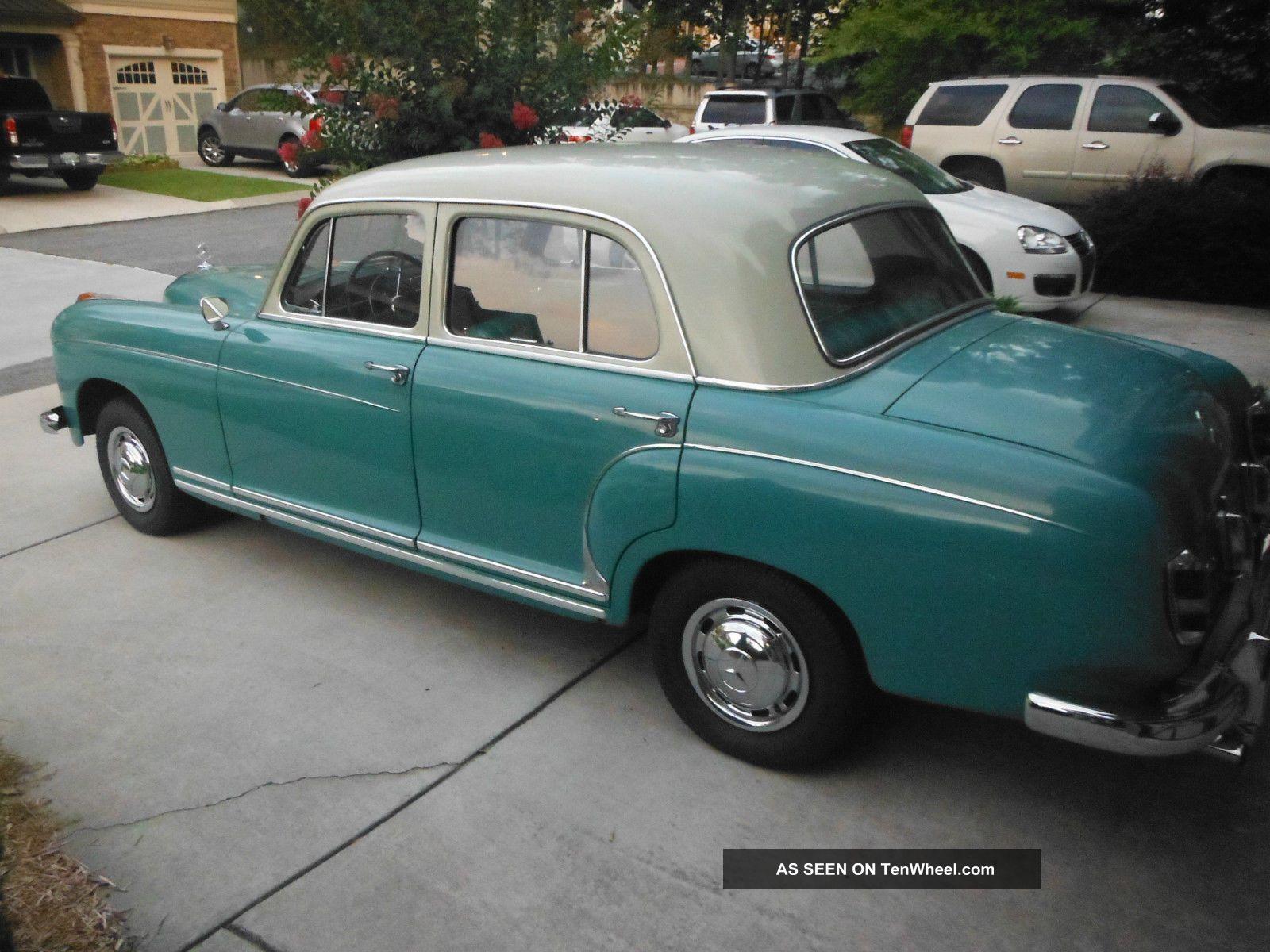 1957 mercedes benz 220s for 1957 mercedes benz 220s